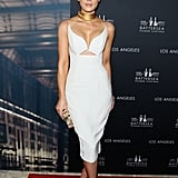 Kate Beckinsale made a flawless Thursday night red carpet appearance for the LA launch of the Frank Gerhy designed Battersea Power Station.