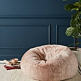 Sophie Faux-Fur Beanbag Pillow