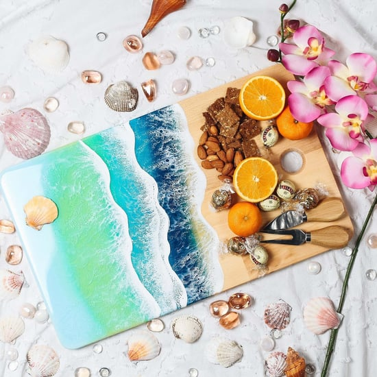 This Ocean Art Cheese Board on Etsy Looks So Realistic