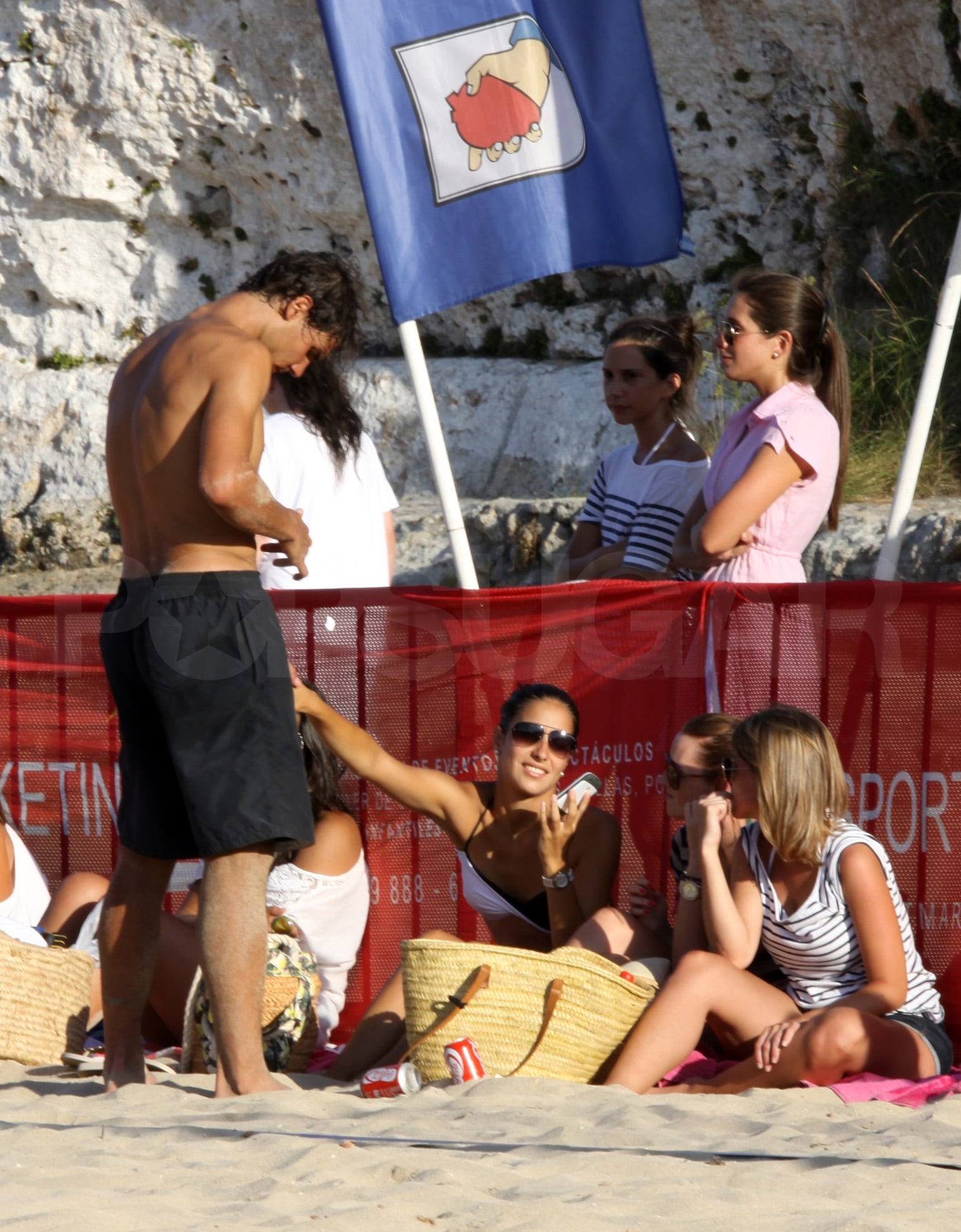 Rafael Nadal And Xisca Perello On The Beach Rafael Nadal Goes Shirtless For A Weekend In Majorca With His Bikini Clad Girlfriend Popsugar Celebrity Photo 9
