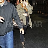 Jessica Simpson landed in NYC.