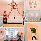 Nurseries: An Eclectic, Sweet Nursery For a Baby Girl