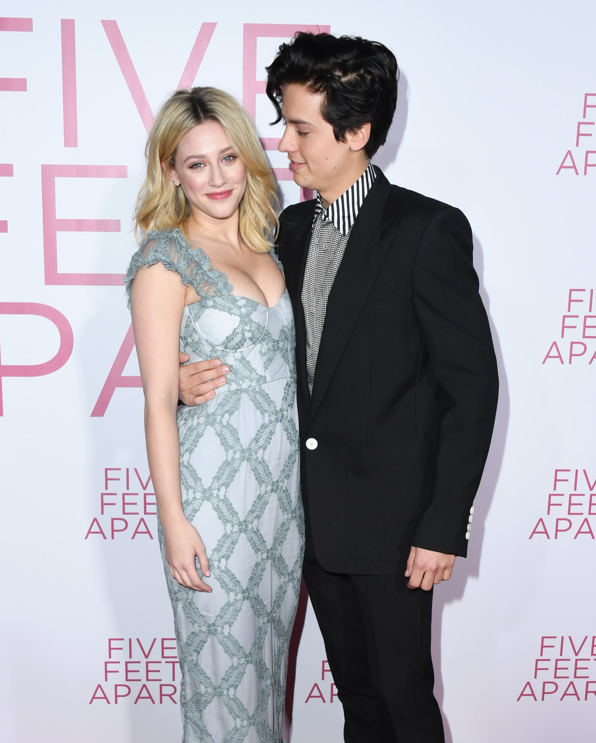 LOS ANGELES, CALIFORNIA - MARCH 07:  Lili Reinhart and Cole Sprouse attend the premiere of Lionsgate's