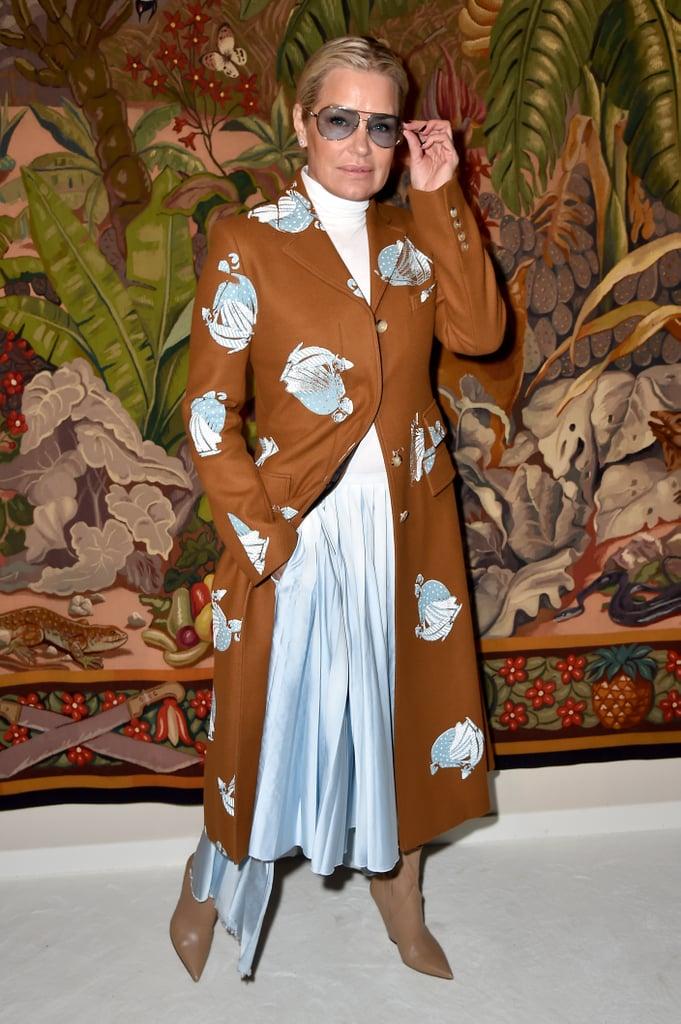 Yolanda Hadid at the Lanvin Fall 2020 Show