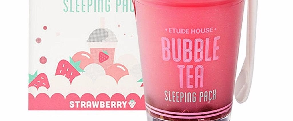 This Bubble-Tea-Inspired Overnight Mask May Be the Cutest K-Beauty Product Ever