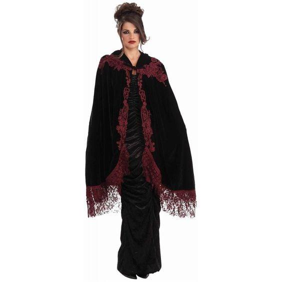 Velvet Vampire Cape Costume ($36)