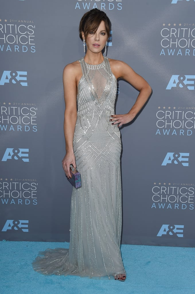 Kate Beckinsale's Dress at Critics' Choice Awards 2016   POPSUGAR ...