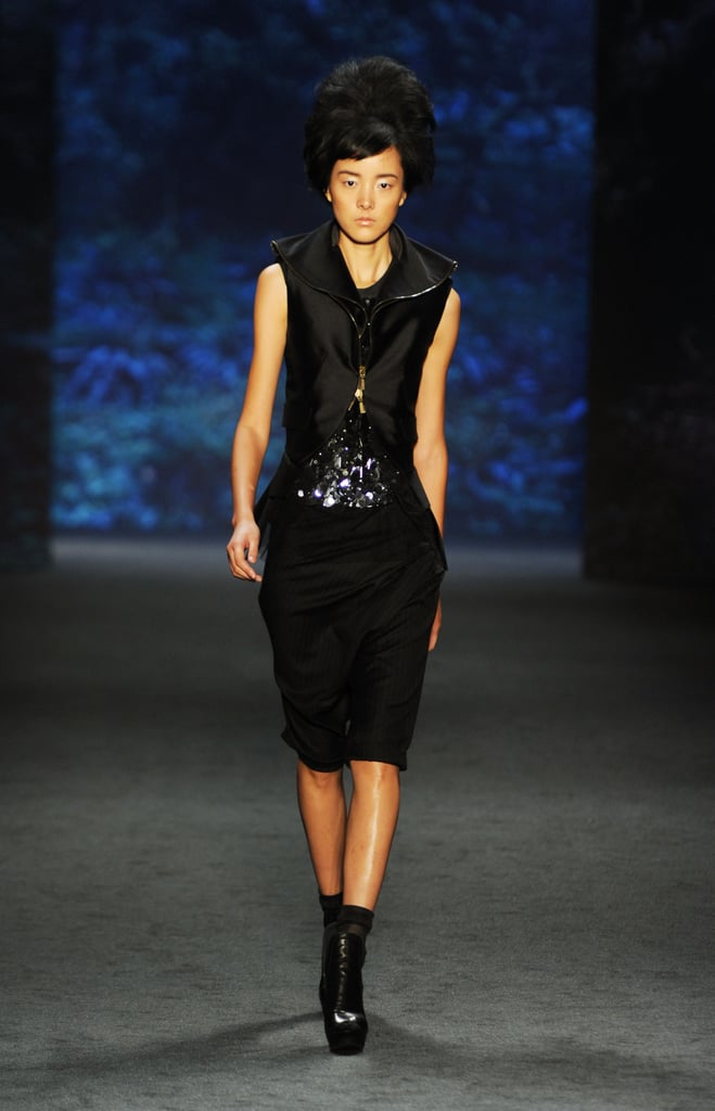 Spring 2011 New York Fashion Week: Vera Wang