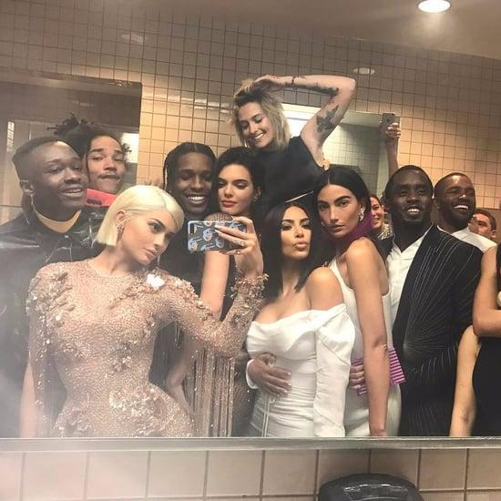 Kylie Jenner Selfie at the 2017 Met Gala