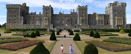 Windsor Castle East Terrace Garden Opens to the Public