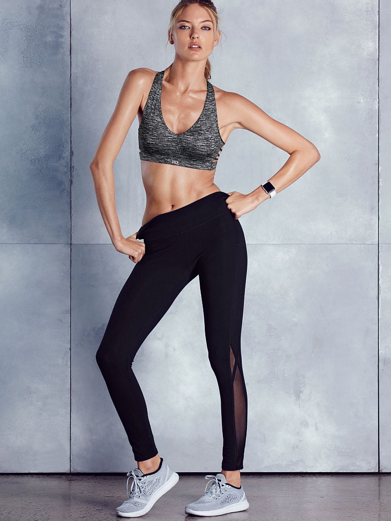 """""""These tights are the perfect workout legging, but they also make a great look if you want to just throw on a jacket."""" Adriana recommends: Victoria Sport The Everywhere Legging ($46)"""
