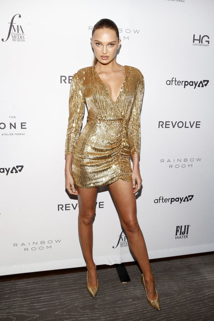Romee Strijd at The Daily Front Row Fashion Media Awards During New York Fashion Week