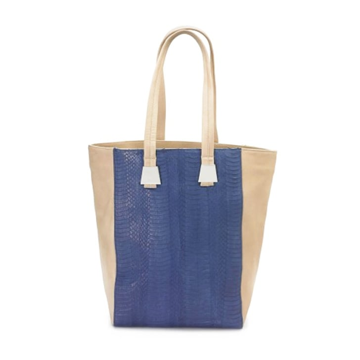Isly Handbags Dalia Water Snake Tote ($490)