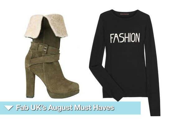 August Shopping Must Haves 2009-08-03 03:00:09