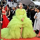 Deepika Padukone Green Dress at Cannes 2019