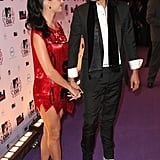 Pictures of Katy Perry and Russell Brand at MTV EMAs