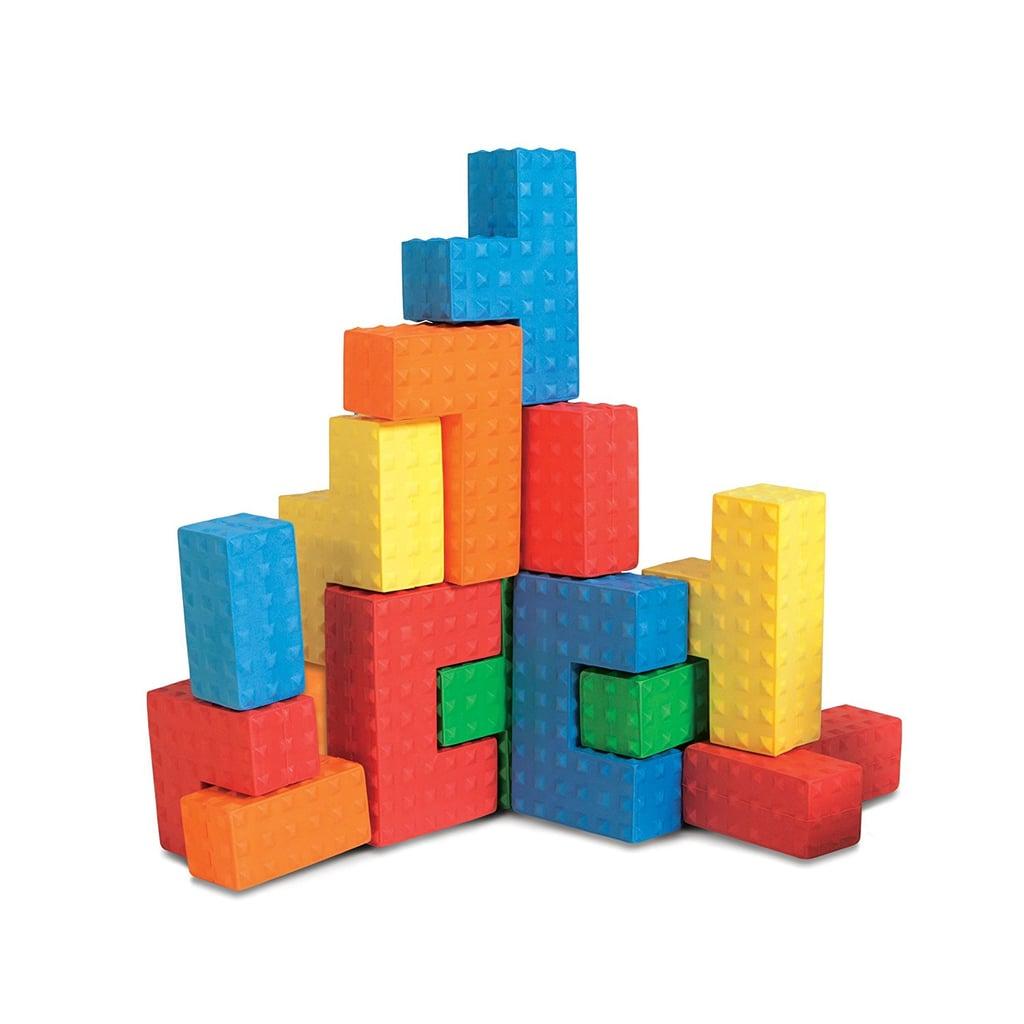 For 2-Year-Olds: Edushape Easy Grip Soft Foam Sensory Puzzle Blocks