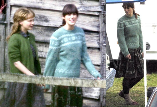 Photos of Keira Knightley on the English Set of Never Let Me Go