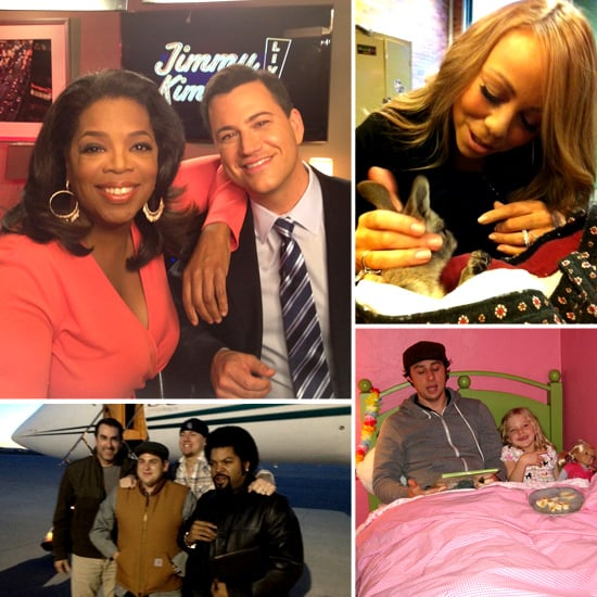 The Week's Fun and Funny Celebrity Twitter Pictures