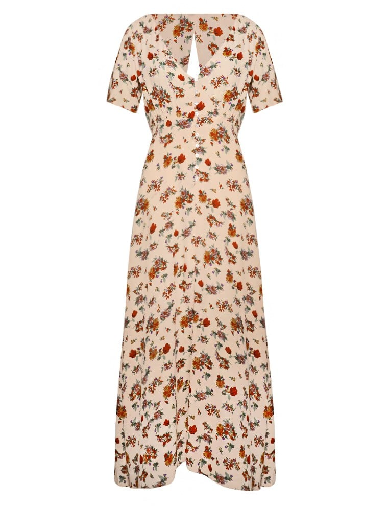 Pixie Market Floral Maxi Dress