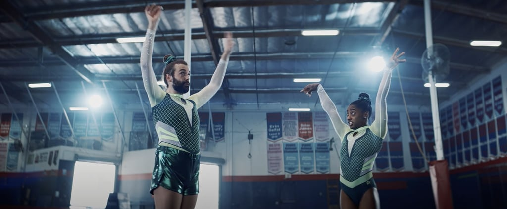 Watch Simone Biles, Jonathan Van Ness Tumble in New Videos