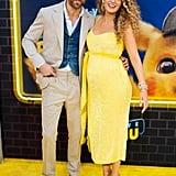 Blake Lively and Ryan Reynolds at Pokémon Detective Pikachu Premiere