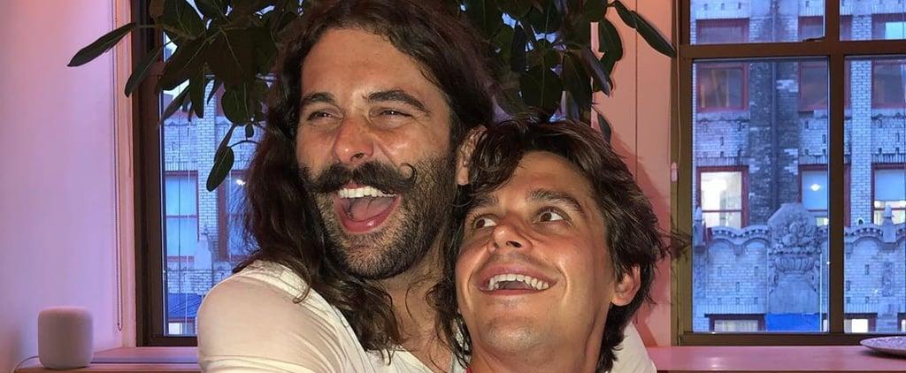Antoni and Jonathan Van Ness' Joke Instagram Account JVNtoni