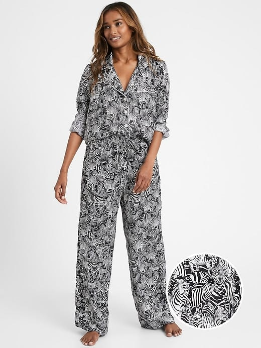 Banana Republic Satin Pajama Set