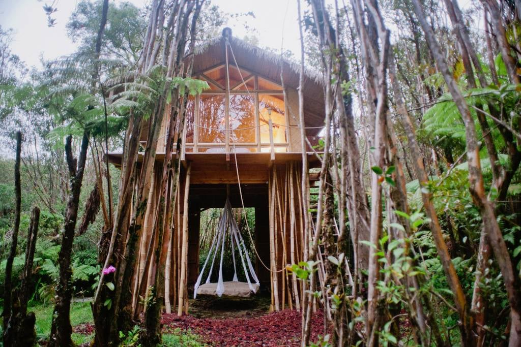 Tree house in hawaii popsugar australia smart living for How much to build a house in hawaii