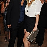 Mario Testino and Gwyneth, quite the Fab duo. Gwyneth's still got legs and she knows how to use them.