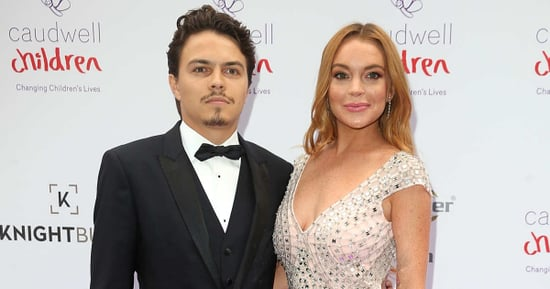 Lindsay Lohan Told a Russian TV Station She Thought Her Ex-Fiancé  Might 'Splash Acid' On Her Face