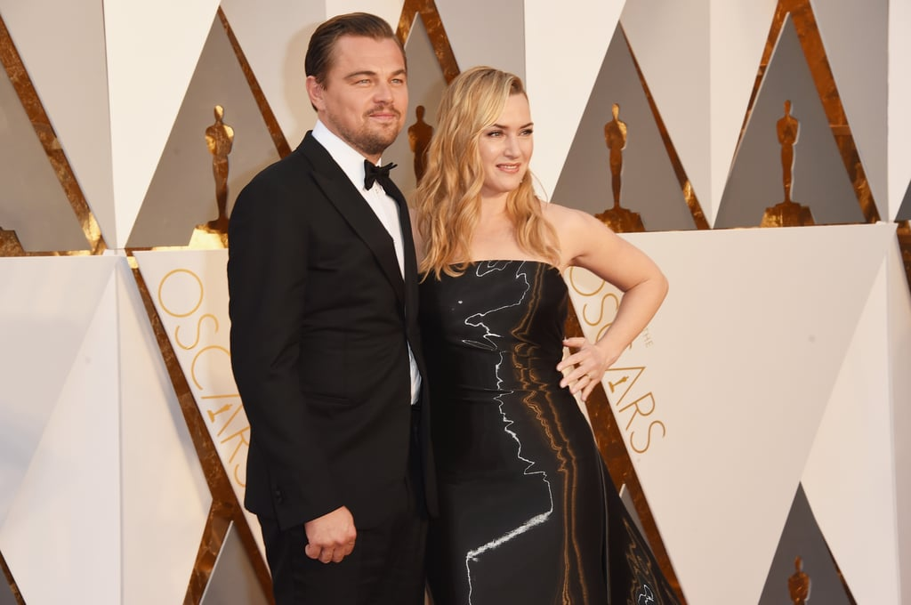 "Leonardo DiCaprio and Kate Winslet thrilled fans everywhere when they hit the red carpet together at the Oscars. The longtime friends and former costars are both among this year's Oscar nominees, and throughout award season, Kate has made it clear that she's rooting for him. When asked whether she'd be among the stars boycotting the Oscars over the lack of diverse nominees, she said she wouldn't be one of them, adding, ""I feel very strongly that it may possibly be Leo's year. And he is my closest friend in the world and I just couldn't imagine not being there to support him."" Keep reading to see all of Leonardo DiCaprio and Kate Winslet's sweetest moments at the Oscars, then relive their friendship — in their own words."