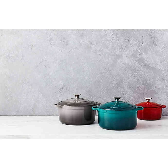Artisanal Kitchen Supply Enameled Cast Iron Dutch Oven Bed Bath Beyond Has The Home Goods You Want On Sale Right Now Popsugar Home Photo 5
