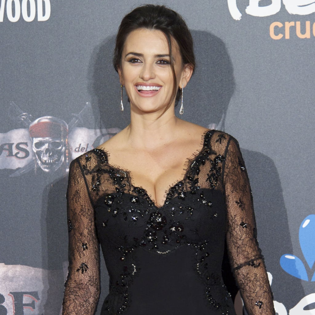 Pictures of Penelope Cruz at the Pirates Spanish Premiere