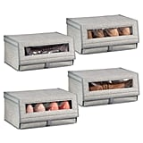 mDesign Fabric Large Storage Boxes