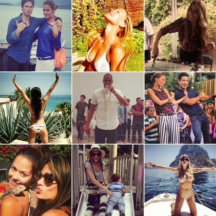 Beach Bums, Birthday Cakes, and More of the Week's Cute Celebrity Candids