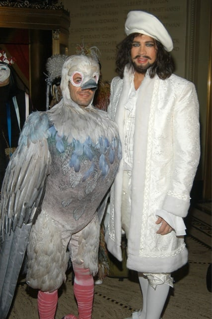 Marc Jacobs always loves to dress up for Halloween, and this year he's sure to ruffle a through feathers.