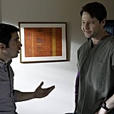 Danny (Chris Messina) is probably getting relationship advice from Morgan (Ike Barinholtz).