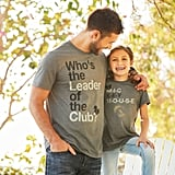 Mickey Mouse Club Mouseketeer Text Family T-Shirts