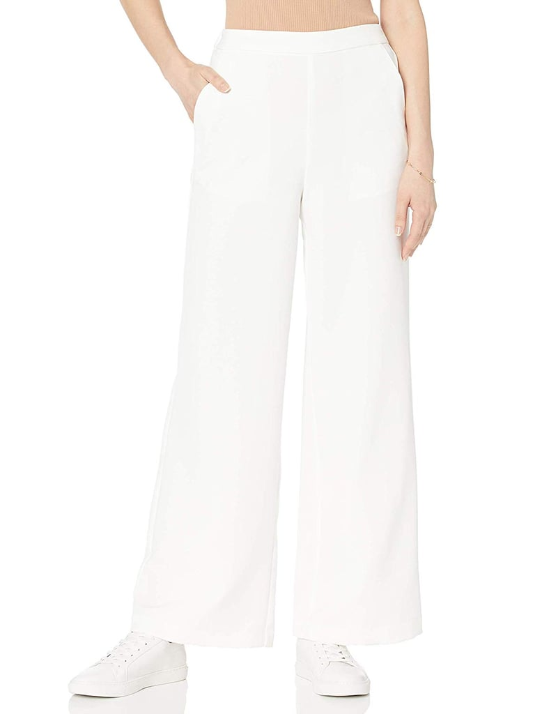 The Drop Women's Rosa Wide-Leg Pull-On Soft Trouser