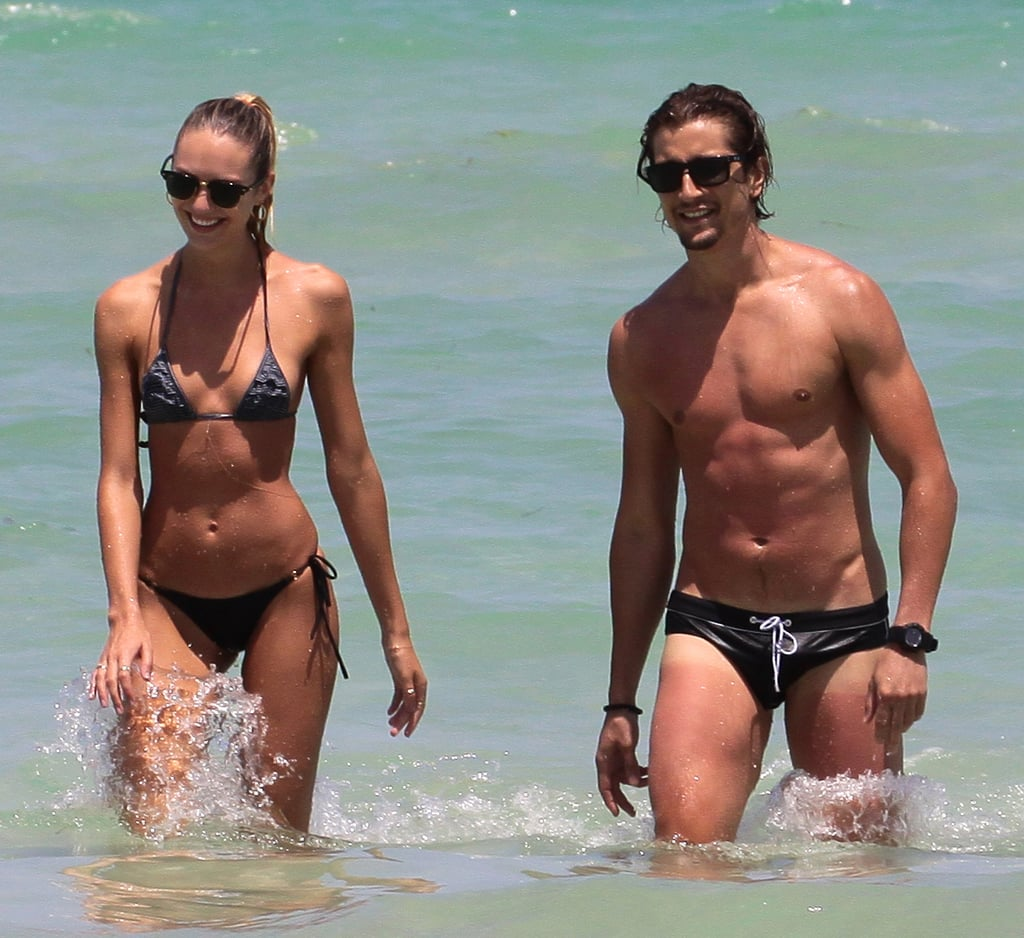 Candice Swanepoel and boyfriend Hermann Nicoli showed off ...