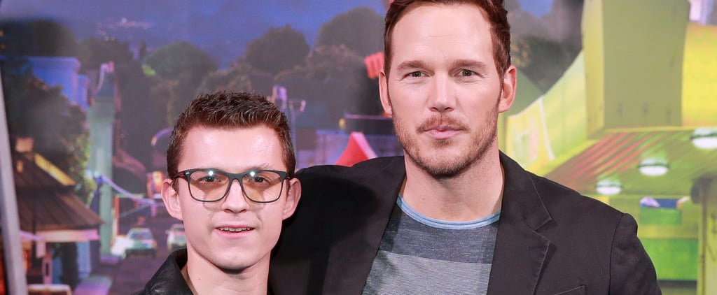 Chris Pratt and Tom Holland's Friendship Over the Years