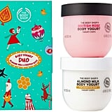 The Body Shop Almond Milk & British Rose Body Yogurt Duo