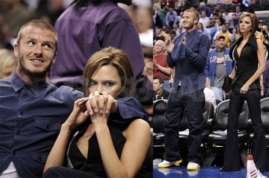 Posh and David's Love and Basketball