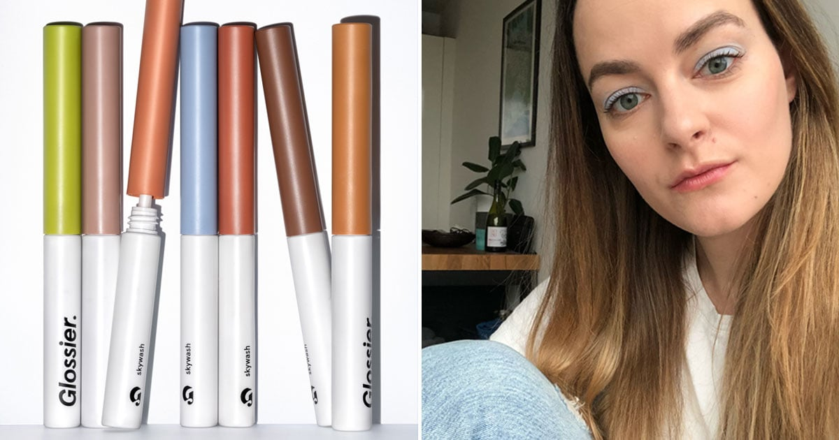 Glossier's New Skywash Eye Shadows Are Made For Lazy People Who Love Makeup