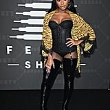 Normani Kordei at the 2019 Savage x Fenty Show