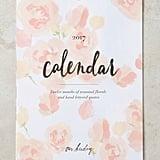 Floral 2017 Calendar