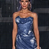 Kate Beckinsale rocked a shimmering strapless dress at the Porsche Design 40th Anniversary event in LA.