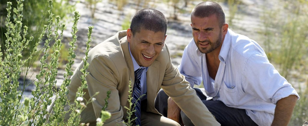 Wentworth Miller and Dominic Purcell Talking at Comic-Con