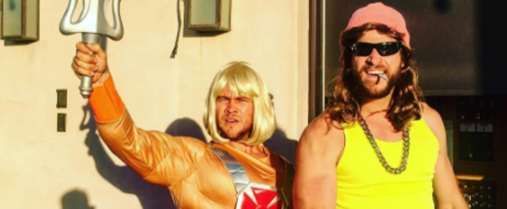 Liam Hemsworth Rocks Some Short Shorts and a Wig While Partying With Miley Cyrus